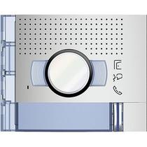 Frontale audio video 1 Pulsante in metallo per Sfera New Bticino 351211