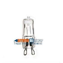 Lampada alogena Attacco G9 42W 230V 3000K bianco caldo Wiva 11082802