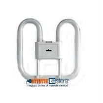 Lampada Fluorescente bifly 4 pin 16W Attacco GR10Q 4000K Wiva 12060719