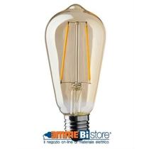 Lampada a led stile antico  4W Attacco E27 2000K Wiva 12100574