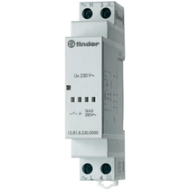 Rele' interruttore ad impulsi modulare 1 modulo din Finder 138182300000