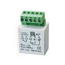 Relè elettronico passo passo temporizzato con neutro filare MTR200E Yokis 5454350