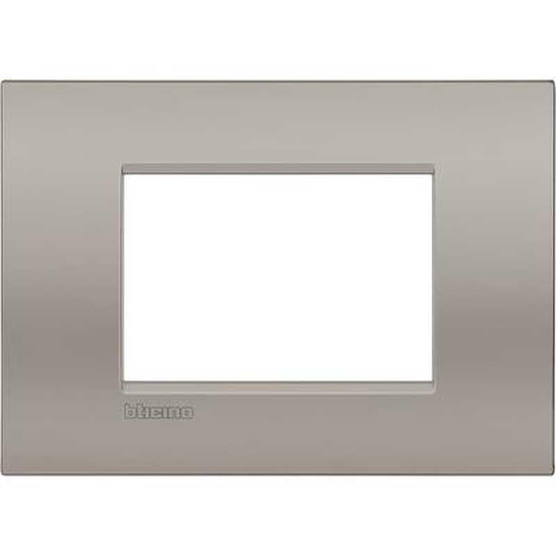 Placca Living Light Air BTicino 3 POSTI Sabbia LNC4803SB