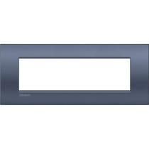 Placca Bticino LivingLight Air Blue Moon  7 posti LNC4807BM