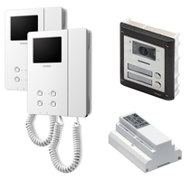 Videocitofono 2 FILI bifamiliare colore Serie 4000 Master MST KVAN4FA6BS