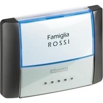 Pulsante Targa IP55 Serie Civili BticinoAntracite 26108L