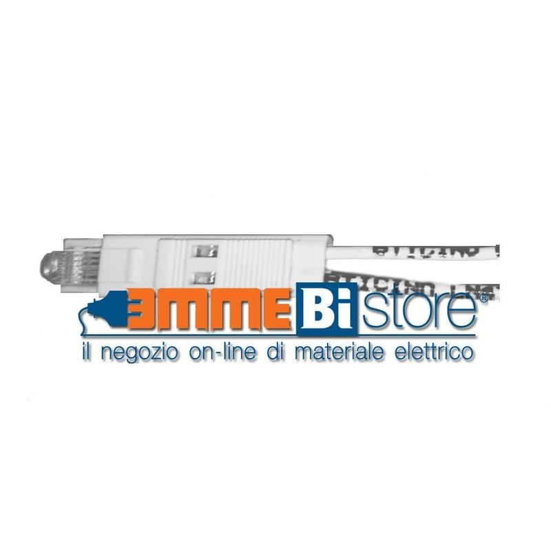SPIA LED 230V LUCE AMBRA PER INTERRUTTORI ASSIALI BTICINO AXOLUTE LN4743//230A