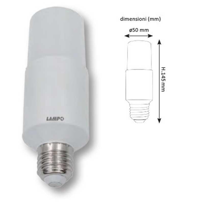 Lampada a Led dimensioni ridotte 15W Bianco neutro Lampo CO15WBN