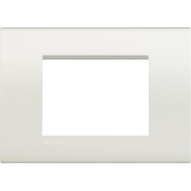 Placca Bticino Living Light 3 Posti Bianca LNA4803BI