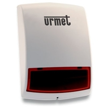 Sirena per esterno con lampeggiante per Sistema Zeno Urmet 1051/405