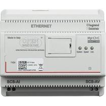 Web Server audio Video per controllo applicazioni My Home Bticino F454