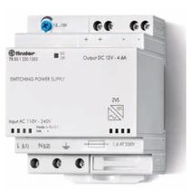 Alimentatore modulare ad alta efficienza uscita DC 50 W Finder 785012301203