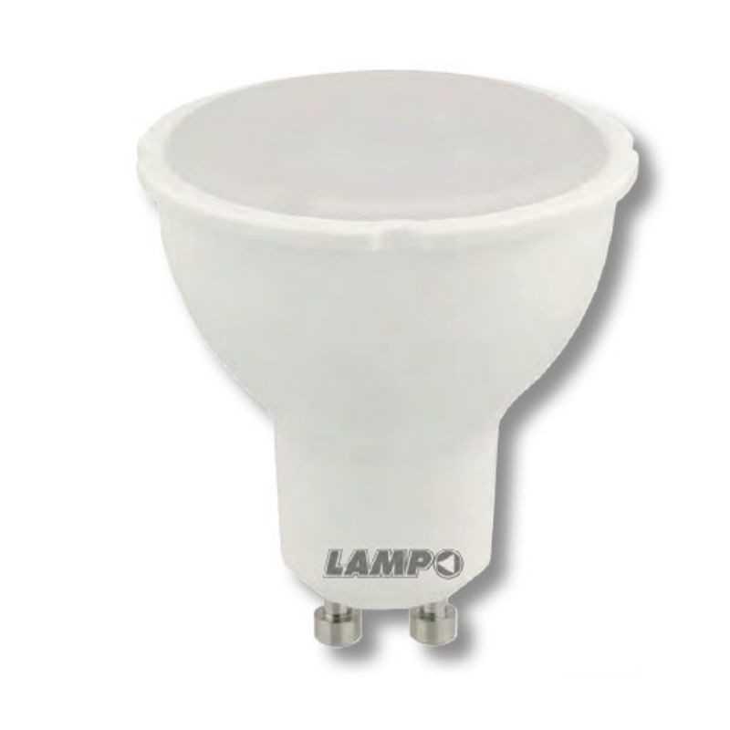 Lampadina Led GU10 7W Attacco Lampo  Luce Calda DIKLED7WE230BC
