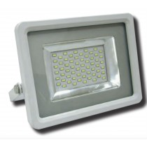 Faro a led 50W Flat Ultrapiatto Lampo 3000K luce calda