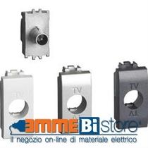 Presa TV Derivata 1 Posto  Serie Civili Bticino LivingLight Tech LN4202D