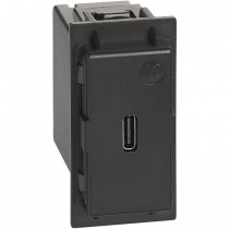 Caricatore USB tipo C 1,1A Bticino Living Now K4286C1