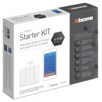 Starter Kit per 5 tapparelle Bticino Living Now K2000KIT