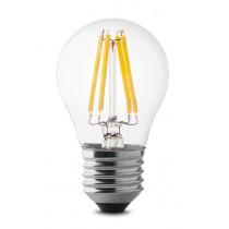 Lampada a led sfera 4W luce naturale attacco grande  Wiva 12100505