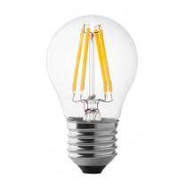 Lampada a led sfera 4W luce calda attacco grande  Wiva 12100501
