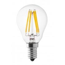 Lampada a led sfera 4W luce calda attacco piccolo  Wiva 12100500