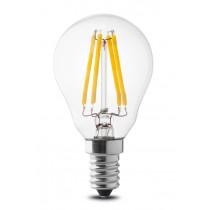 Lampada a led sfera 4W luce naturale attacco piccolo  Wiva 12100504