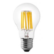 Lampada a led a goccia 8W luce calda attacco grande  Wiva 12100541