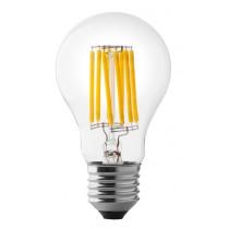 Lampada a led a goccia 8W luce naturale attacco grande  Wiva 12100542