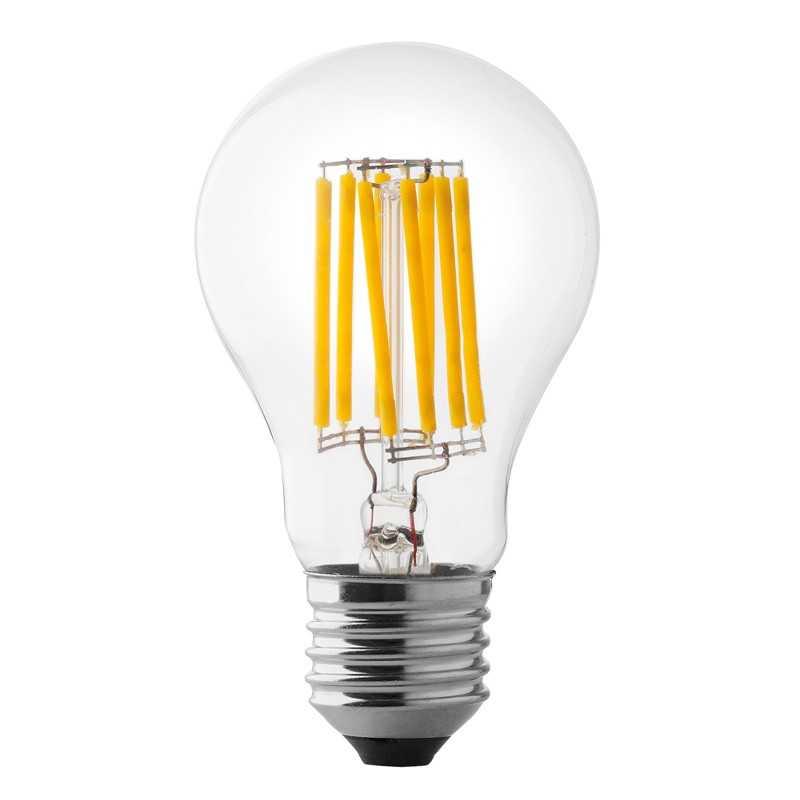 Lampada a led a goccia 8w luce naturale attacco grande for Lampade a led e 27