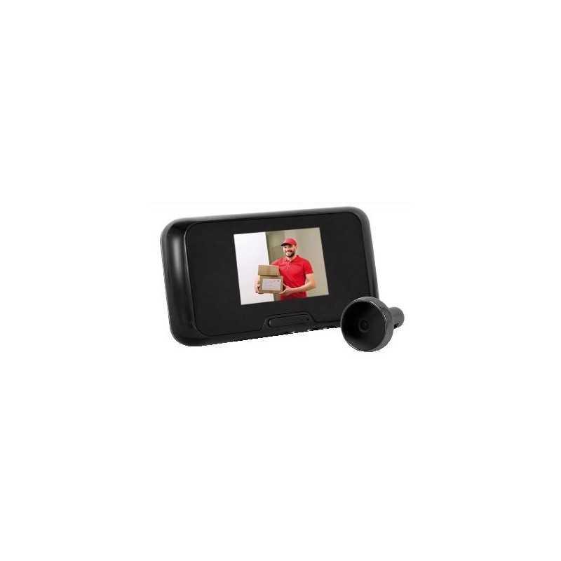 Spioncino elettronico con registratore e monitor interno GBC