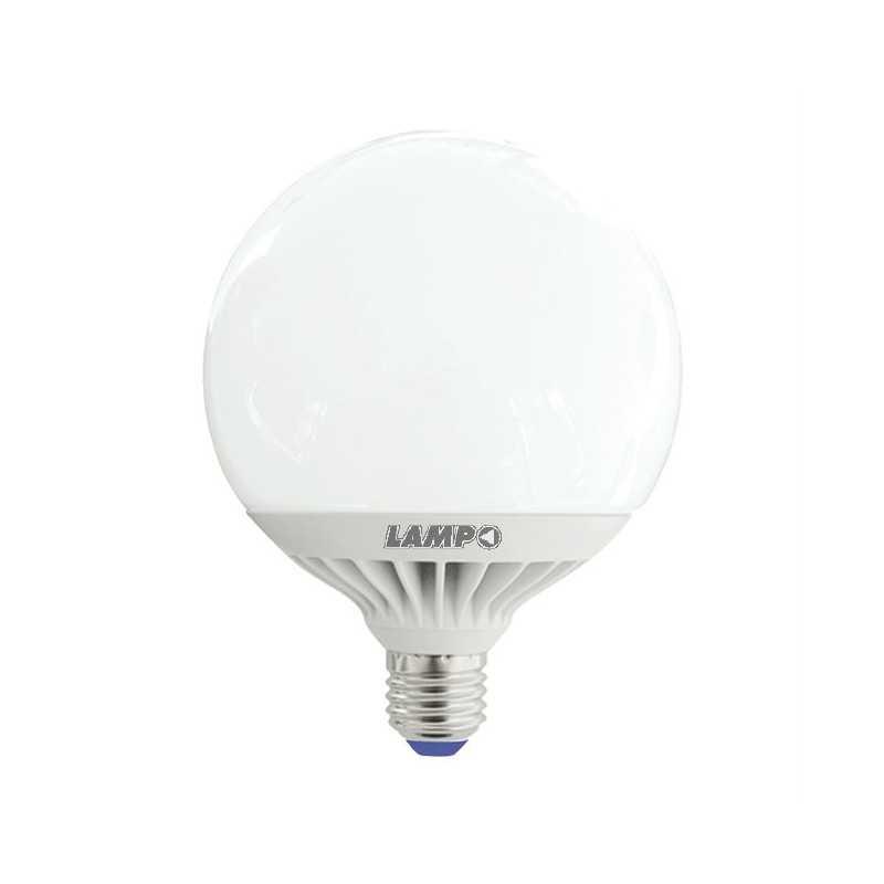 Globo Led 24W Attacco grande Bianco Caldo (3000K) Lampo GL120BC