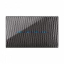 Placca Touch Ave per sistema 44 colore CARBON Scuro 3D 4 comandi 44PJTC4CBS/3D