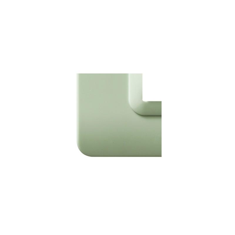 "Placca AVE 44PY04GD ""Tecnopolimero 44"" 4 moduli Giada opalino - semitrasparente"