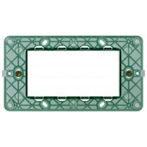 Supporto Vimar Plana 4 moduli per scatole rettangolari 14614