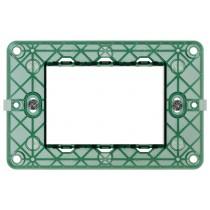 Supporto Vimar Plana 3 moduli per scatole rettangolari 14613