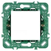 Supporto Vimar Plana 2 moduli per scatole tonde 14602