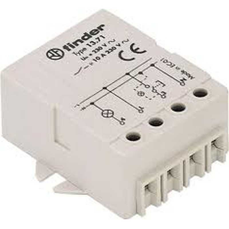 Schema Elettrico Relè Commutatore : Rele interruttore elettronico finder