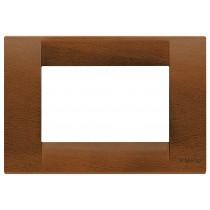 Placca Vimar Idea Classica 3 Moduli noce legno naturale 16733.55