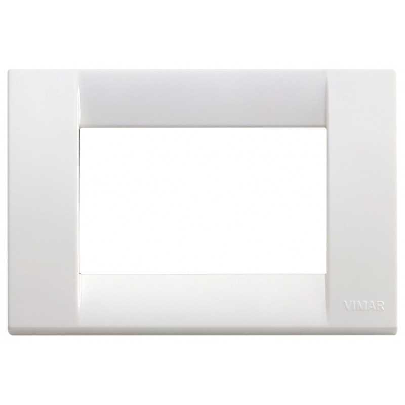Placca Vimar Idea Classica 3 Moduli bianco brillante 16743.01
