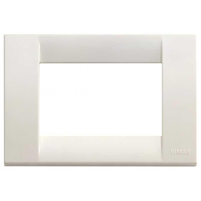 Placca Vimar Idea Classica 3 Moduli bianco Idea codice 16743.04