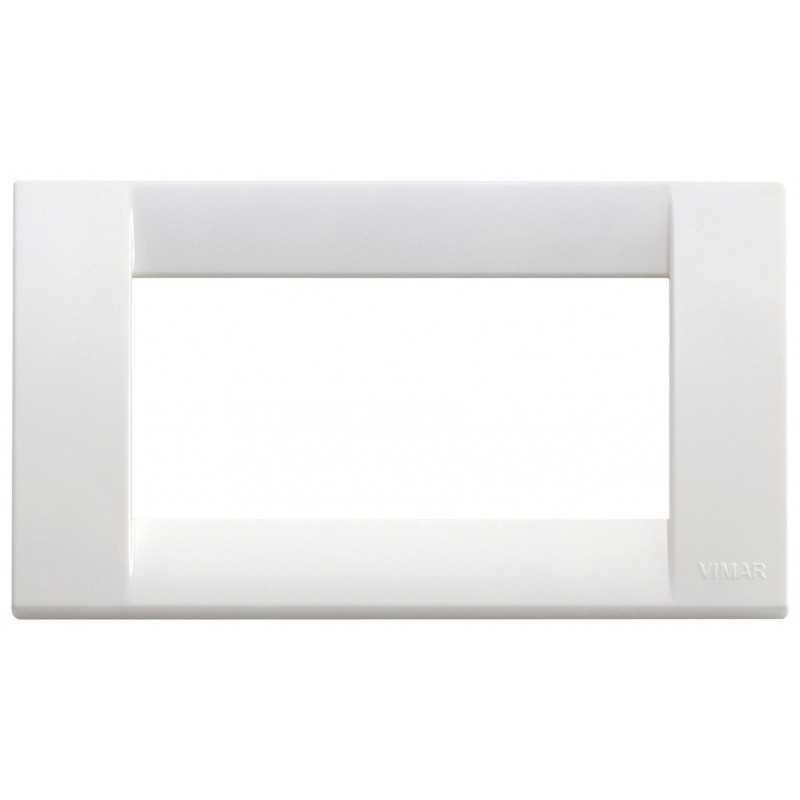Placca Vimar Idea Classica 4 Moduli  bianco brillante 16744.01
