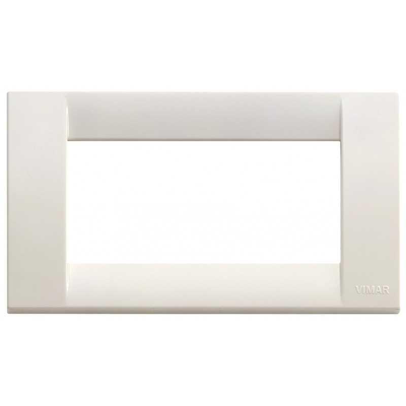 Placca Vimar Idea Classica 4 Moduli bianco Idea codice 16744.04
