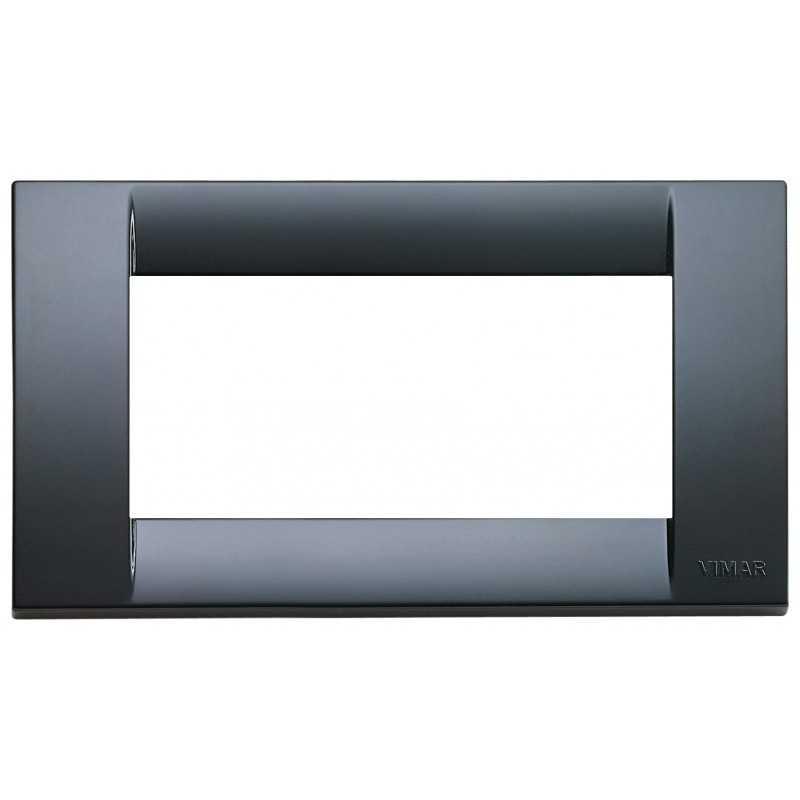 Placca Vimar Idea Classica 4 Moduli grigio grafite 16744.15