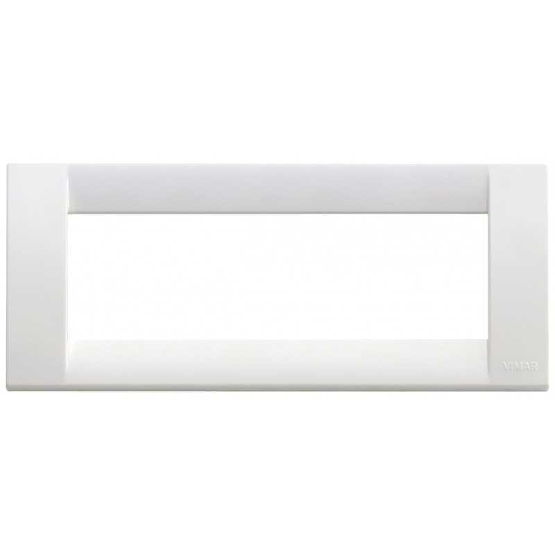 Placca Vimar Idea Classica 6 Moduli bianco brillante 16746.01