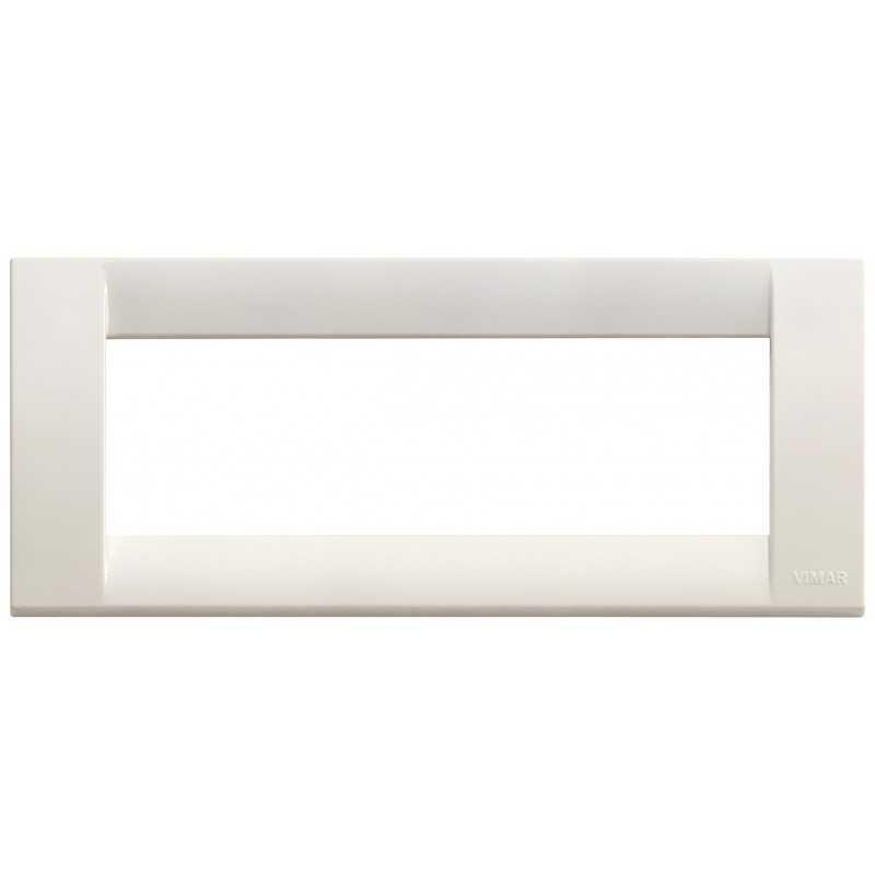 Placca Vimar Idea Classica 6 Moduli bianco Idea codice 16746.04