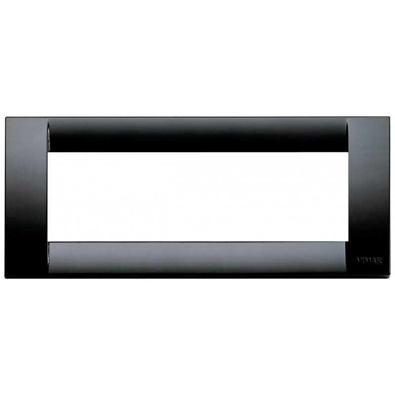 Placca Vimar Idea Classica 6 Moduli nero tecnopolimero 16746.16