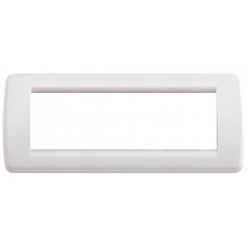 Placca Vimar Idea Rondo' 6 Moduli colore bianco Idea 16766.04