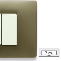 Placca Master Mix Vulcano in tecnopolimero 7 posti 21MX557