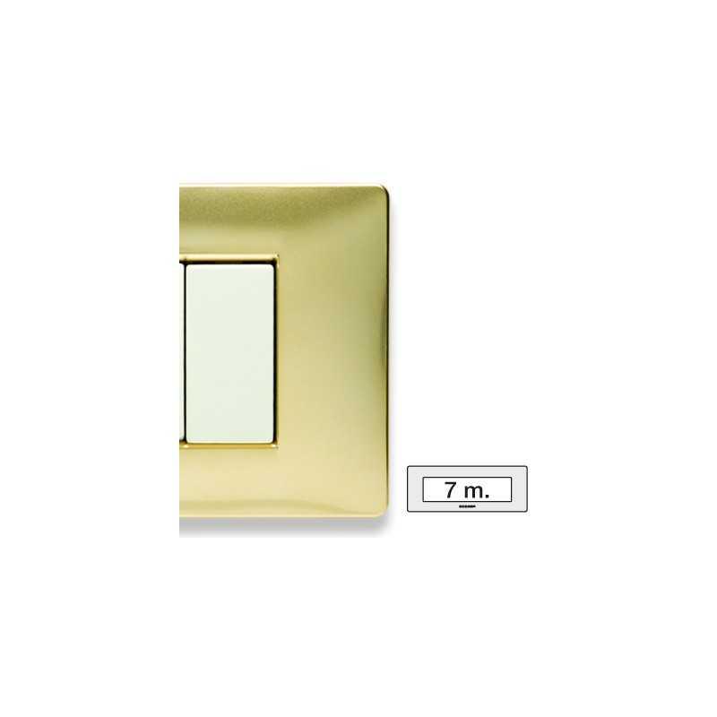 Placca Master Mix Oro karat in tecnopolimero 7 posti 21MX247
