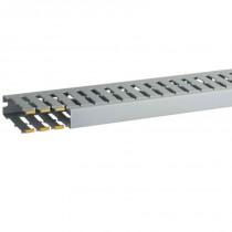Canalina per cablaggio T1-N 25x80 G stecca da 2 metri Bocchiotti  B02563