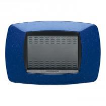 Placca Master Modo Blu vio in tecnopolimero 3 posti 39TC363